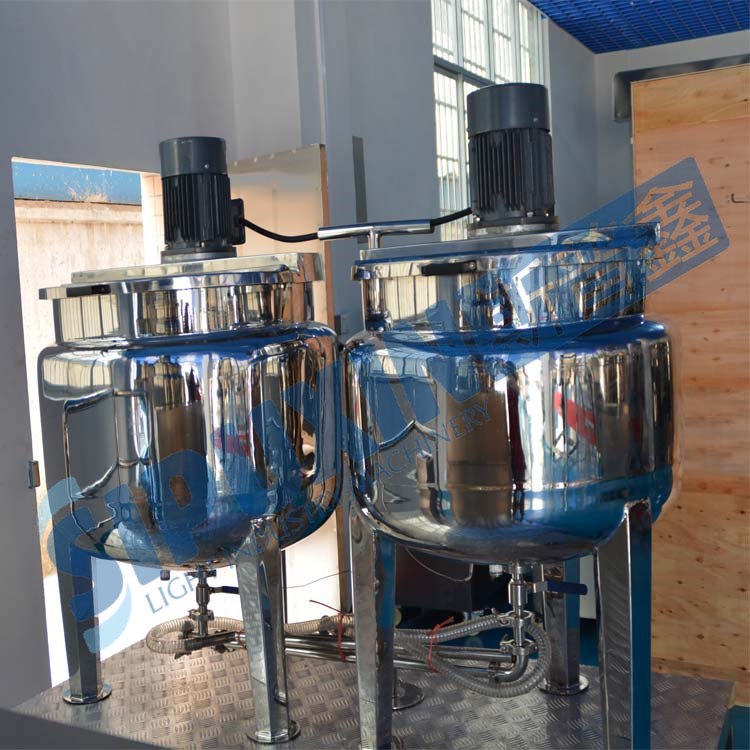 SIPUXIN vacuum Homogenizing and Emulsifying mixer (CE certified)