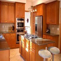 American style Pantry Remodeling Kitchen Cabinet (sapiential )