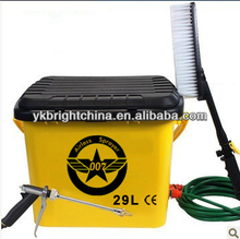 electric multi-function car washer/car washing machine for car washing, windows, floorboard, air-condition,spray flowers