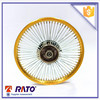 Golden surface Motorcycle alloy wheel rims spoke wheel rim