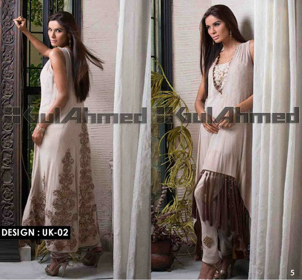 UK-02 (Gulahmed Stitched GPRET Designer Wear 2013)