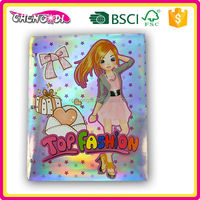 2015 New Design girls paper restaurant bill folder