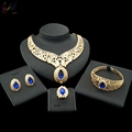 Imitation Jewelry Bridal Sets Gold Plated Indian Rajasthani Gold Jewellery Photo