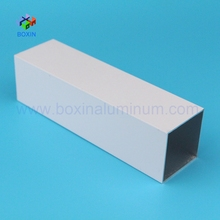 6000 series aluminium alloy square tube size