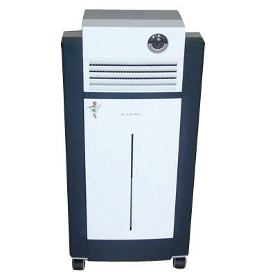 floor type Air purifier with casters UV, hepa, carbon filters