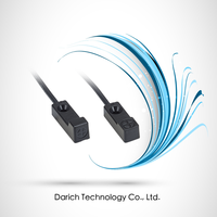 Compact rectangular 8 mmsq / Top / Front Sensing surface / 2mm / DC 10-30V / DC-3 wire / Inductive Proximity Sensors
