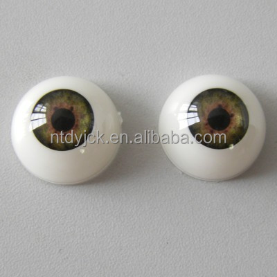Acrylic reborn doll eyes plastic doll eyes
