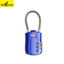 1332401 TSA Approved Travel Combination Cable Luggage Locks for Suitcases