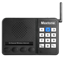 2 Stations Multi Channel Wireless intercom <strong>system</strong> <strong>10</strong> channel wireless intercom for home or office,Baby elderly monitor