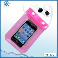 IPX8 water sports waterproof cover for iphone