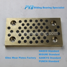 Oiles UTW Plate Bush, Mould Die Wear Bearing manufacturer, Oiless Guide Bar Based on MISUMI Standard