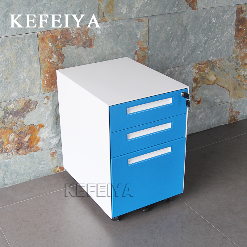 High Quality 3 Drawer Lockable Filing Cabinet Mobile Cabinet Drawer Movable Cabinet With Drawer