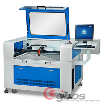 Camera capture woven label cutter embroidery patch laser cutting machine