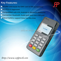 N58 Bluetooth Portable Mini Encrypted Mobile Credit Card Reader for IOS and Android