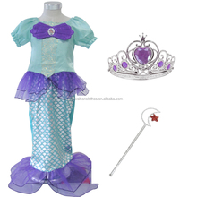 Little Mermaid Ariel Halloween Costume Child Girl Dress Up fancy dress
