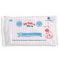 Customized logo disposable organic free sample baby wipes