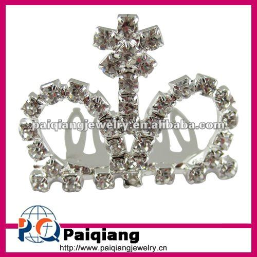 Fancy mini rhinestone tiaras for wedding giving