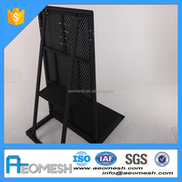 AEOMESH Aluminium Powder Coated Crowd Control Barrier Concert Mojo Barrier