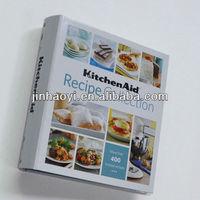 print W-O binding/spiral bound recipe collection books