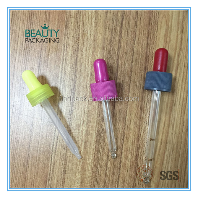 20410 Color Plastic Rubber Droppers and glass & plastic pipettes