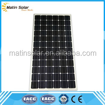 matin cheap price 48v mono solar panel made in japan