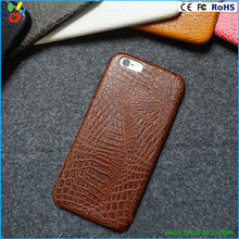 Wholesale Alligator Pattern Mobile Phone Leather case for iphone 6,Luxury Leather Mobile Phone Case