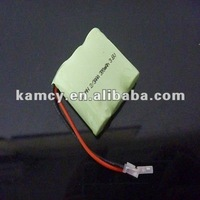 2/3 AAA 3.6V 300mAh nimh battery pack