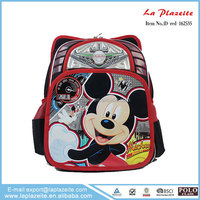 popular school bag , lovely girl picture school bag , disney school bag