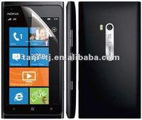 High clear screen protectors for Nokia mobile phones, 4H hard coat, crystal clear, anti-scratch, very professional