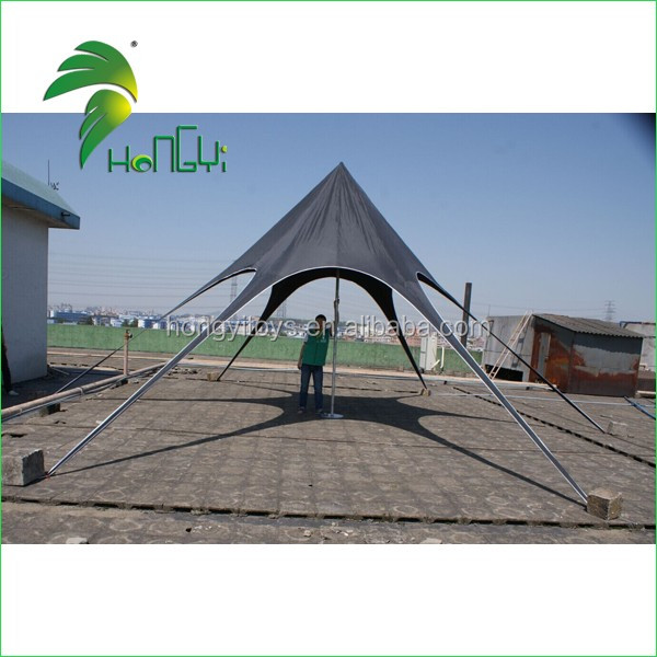 2017 New Promotional Outdoor Star Tents , customized logo star shade tents , 10m *10m star tents for Party Event