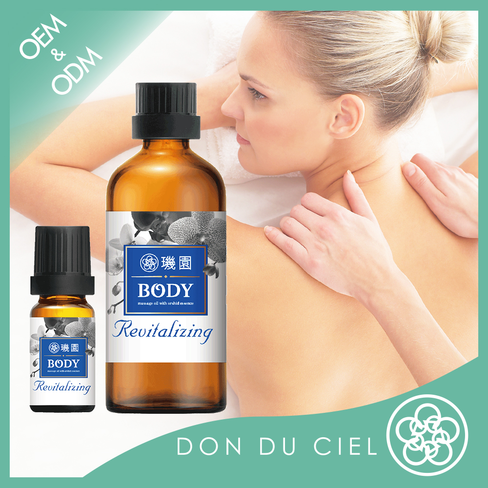 Spa massage product orchid revitalizing body oil sex massage