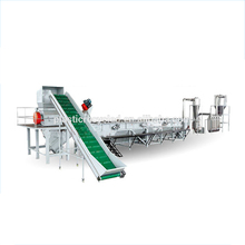 Sink-float separator for pet pp pe hdpe ldpe plastic recycling washing line