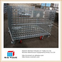 Wuhao metal storage cage,container house with wheels,containers for bulk wine