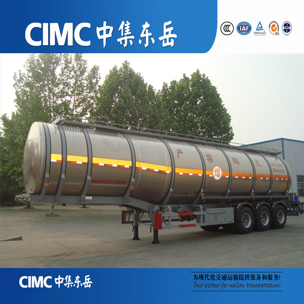 Stainless steel widely used standard water tank truck trailer for sale