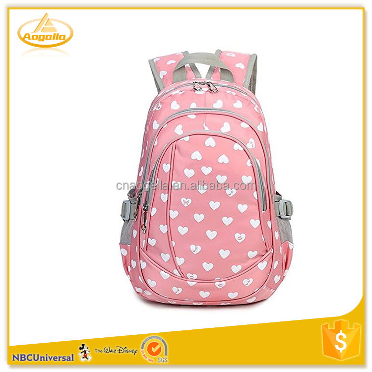 High quality kids school backpack bags for sale
