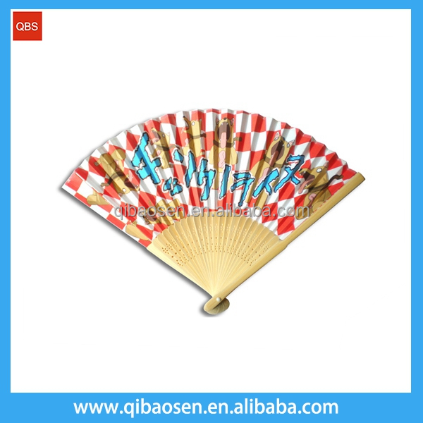 Wall Hanging Home Decor Bamboo Cloth Fan