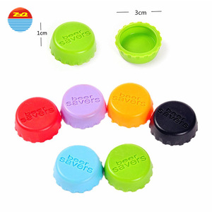 Colorful cool custom rubber wine bottle cap sealer beer silicone wine stuff stoppers target in multicolor walmart