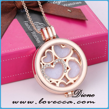 2016 guangzhou essential oil diffuser necklace/ aromatherapy diffuser locket wholesale