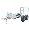 Hot selling factory direct custom small size outdoor car trailers cargo utility motorcycle trailers