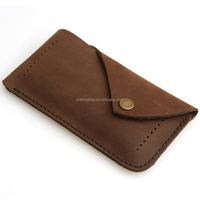 Handmade Band genuine leather cell phone case covers