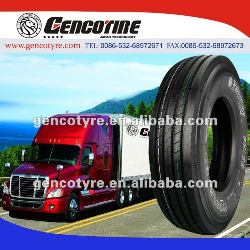 radial truck tyre 11r22.5 GENCOTYRE with Japan Technology