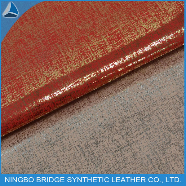 PU transfer leather for wallet decoration and shoe