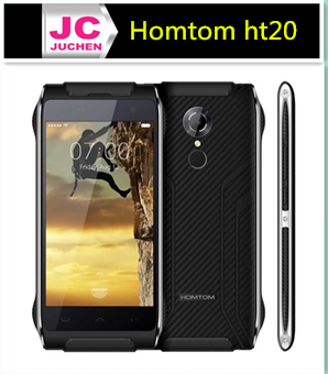 Waterproof high performance fingerprint chinese cheap mobile phone Homtom ht20