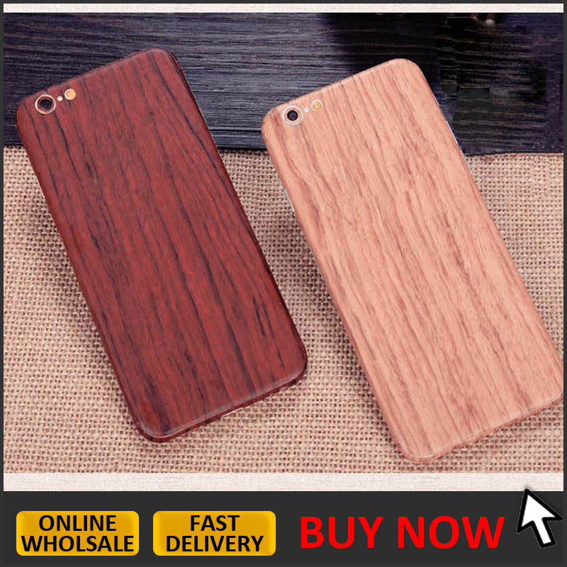 for iphone 5/ 5s/ SE Wood high quality skin wrap Vinyl DECAL Sticker Skin Cover case