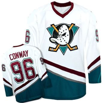 CUSTOM The Mighty Ducks Movie Hockey Jersey Charlie Conway Any Name Any Number All Stitched and Sewn New