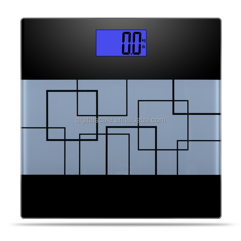 Glass Platform 180kg OEM High Precision Household Type Digital Electronical Personal Scale With LCD Display