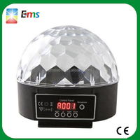 Remote control DMX RGB mini LED crystal magic ball light led magic ball light