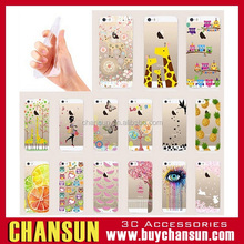 wholesale mobile phone custom printing tpu case for iphone 5