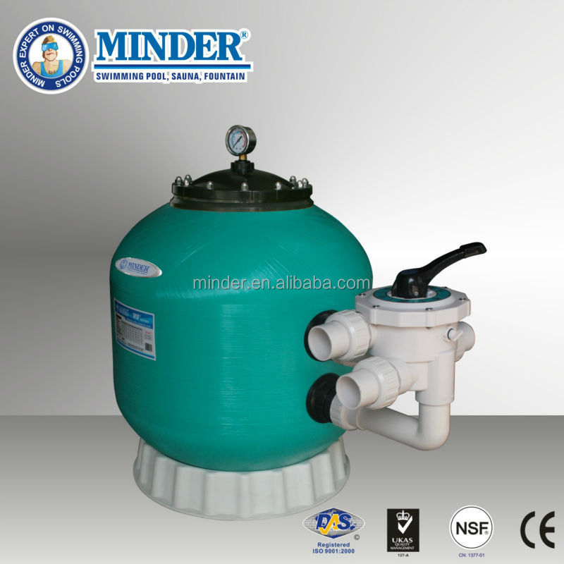 MS series Multiport valve swimming pool filter and best swim pool filter, used pool filters for sale