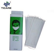 Professional Paper Custom Medic Face Mask With Earloop